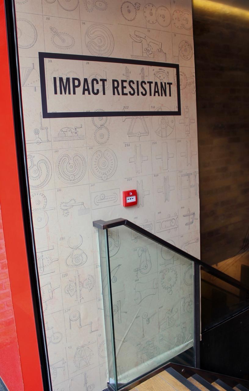 Impact Machine -stairs
