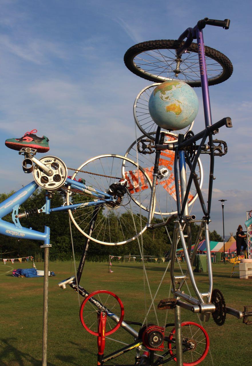 Bike Sculpture 8770